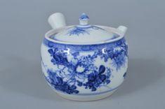 Japanese Old Kiyomizu-ware Shikunshi pattern TEAPOT Kiyomizu Rokubee made Age, Teapot, Asian, Japanese, Antiques, Pattern, Decor, Antiquities, Tea Pot