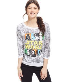 Juniors' Star Wars Graphic Top from Freeze 24-7 - Star Wars - Macy's Pretty Outfits, Cool Outfits, Star Wars Pajamas, Star Wars Outfits, Star Wars Merchandise, Disney Outfits, Disney Clothes, Nerd, Geek Fashion