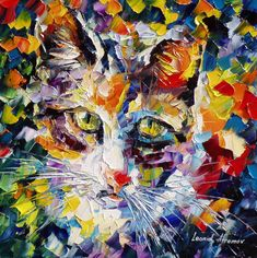 """""""Max"""" by Leonid Afremov ___________________________ Click on the image to buy…"""