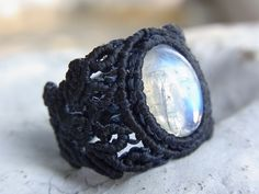 Moonstone ring... this creeps me out a little.   One ring to rule them all!