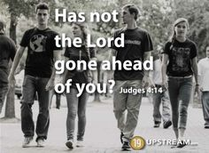 """""""Yet in all these things we are more than conquerors through Him who loved us."""" Romans 8:37    www.19upstream.com"""