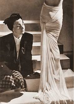 ! HISTORIA DE LA MODA - HISTORY OF FASHION: Designers, Madame Grés
