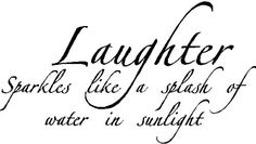 Laughter SparklesWall Quotes Words Sayings Removable Vinyl Lettering BLACK *** Read more reviews of the product by visiting the link on the image.Note:It is affiliate link to Amazon.