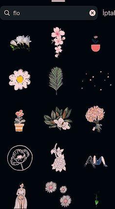 Instagram Hacks, Instagram Emoji, Instagram Editing Apps, Iphone Instagram, Instagram And Snapchat, Instagram Blog, Instagram Quotes, Craft Flowers, Flowers Gif