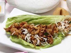 Receta de Tacos de Lechuga Orientales con Pollo