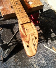 DIY Pallet Wood Guitar | Hometalk