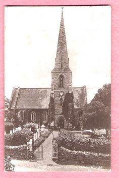SOUTHAMPTON BITTERNE PARISH CHURCH PRINTED POSTCARD - ebay 120531