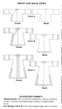 hanfu sewing pattern - Google Search