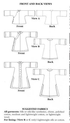 hanfu sewing pattern - Google Search
