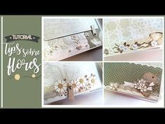 TIPS SOBRE FLORES | LLUNA NOVA SCRAP - YouTube