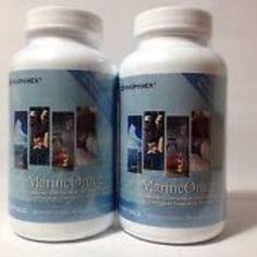 Nu skin pharmanex marineomega, marine omega, 2 bottles,