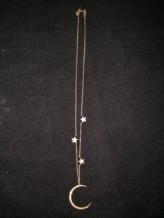 Moon and stars #necklace