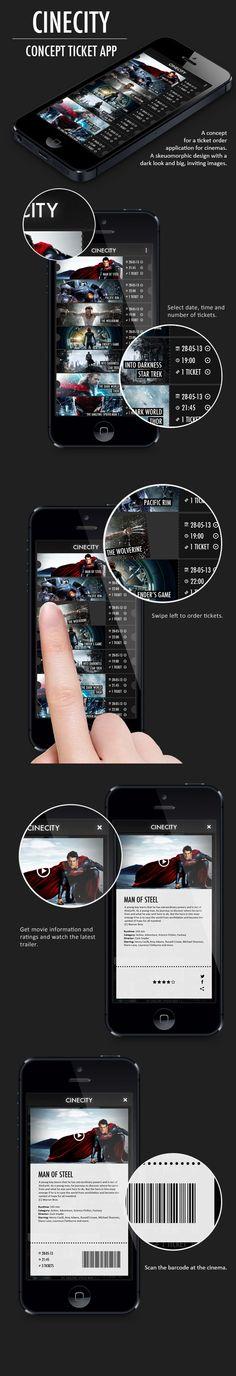Movie Tickets App Mobile Design Pinterest Movie tickets, Ui