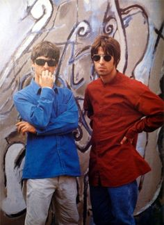 Big Brother Quotes, Little Boy Quotes, Lennon Gallagher, Noel Gallagher, Great Bands, Cool Bands, Oasis Live Forever, Oasis Fashion, Oasis Band