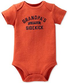 Carter's Baby Boys' Grandpa's Little Sidekick Bodysuit - Kids - Macy's