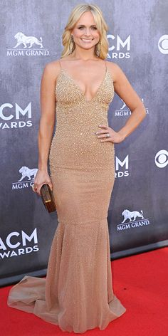 Our Gals of Faster Horses Looked SOOOO good at the ACM's this year. ACM Awards 2014 Red Carpet Arrivals - MIRANDA LAMBERT from #InStyle