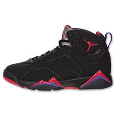 The Men\u0026#39;s Air Jordan Retro 7 Basketball Shoes - 304775 018 - Shop Finish Line today! Black/True Red/Dark Charcoal/Club Purple \u0026amp; more colors.