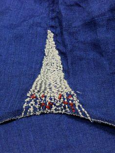 Stitching gusset
