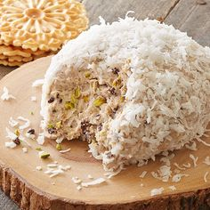 If that doesn't sate your sweet tooth, get another sweet & cheesy recipe here! Cinnamon Cannoli Snowball