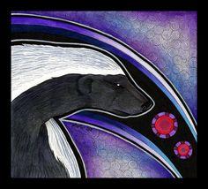 Honey Badger as Totem by Ravenari.deviantart.com on @deviantART