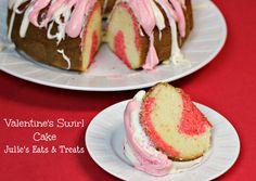Valentine's Swirl Cake