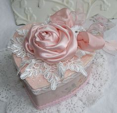 Beautiful heart box.