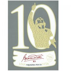 Parche oficial tributo a Totti 10 #asroma #parches #badges #football