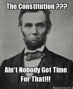 Ain't Nobody Got Time #Lincoln