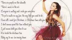 Ariana Grande - I Don't Want To Be Alone For Christmas (Lyrics) ♡ Alone For Christmas, Best Christmas Songs, Christmas Lyrics, Christmas Tunes, Wanting To Be Alone, Copyright Infringement, My Melody, Her Style, Ariana Grande