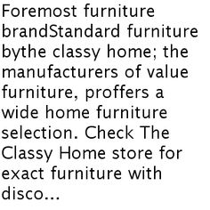 Modernizing Your Home With Standard Furniture