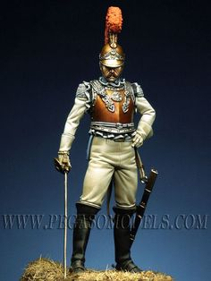 Officer of Carabiniers, France 1811