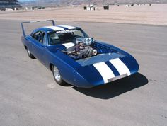 Blown Superbird by Magnum Racing Dodge Charger Daytona, Dodge Daytona, Plymouth Superbird, Dodge Vehicles, Hot Rides, Sweet Cars, Drag Cars, Us Cars, American Muscle Cars