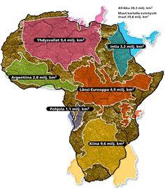 Afrikka on iso