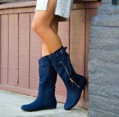 Stylish and edgy! Giavonna boots #ShoeDazzle
