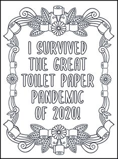 Relax and relieve your stress with these free printable swear word coloring pages for adults only! Print and color cuss word coloring pages! Detailed Coloring Pages, Love Coloring Pages, Printable Adult Coloring Pages, Coloring Books, Coloring Sheets, Swear Word Coloring Book, Signs, Prints, Toilet Paper