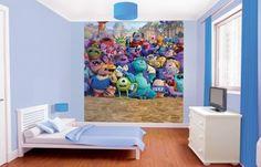 Dětská 8 dílná fototapeta - Monsters University