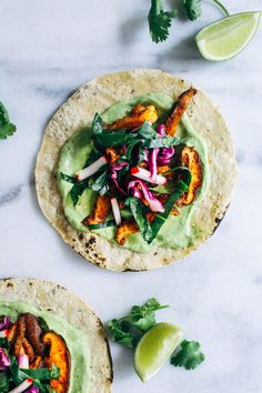Blackened Mushroom Tacos with Collard Green Slaw - Making Thyme . Vegan Coleslaw vegan slaw recipe for tacos Slaw Recipes, Mexican Food Recipes, Whole Food Recipes, Keto Recipes, Vegetarian Recipes, Healthy Recipes, Vegetarian Tacos, Icing Recipes, Vegan Tacos