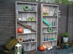 Kast tuinKast boekenKast Steigerhout Dadodesign Kopen | Tuinmeubelen
