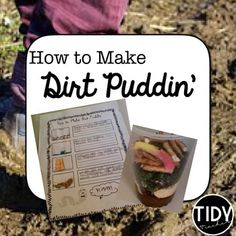 """Enjoy this Science Soil Project! This """"How to Make Dirt Pudding"""" Pack Includes the following: Teacher Tips4-How To Make Dirt Puddin Posters  2- How To Make Dirt Puddin Recording Sheets ( BW & Color) Parent letters for food donations (  sheet & whole sheet)         Completed Student SamplesYou may also enjoy these PRODUCTS:Summer Printable Fun Pack! ( 1st Grade)Father's Day Printables"""