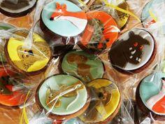 Chocolate Gruffalo cookies