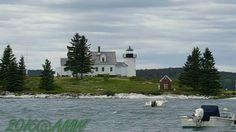 Pumpkin Island #Lighthouse - Brooklin, #ME June 9, 2016♡ Redneck&Frenchy    http://dennisharper.lnf.com/