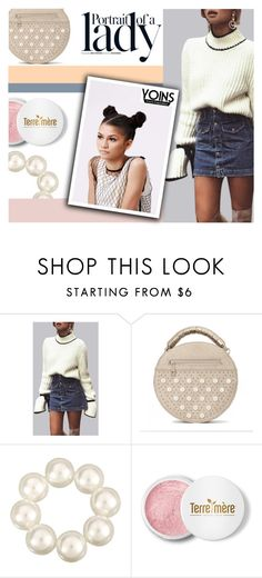 """""""#LadyYoins"""" by juromi ❤ liked on Polyvore featuring Disney, Inez & Vinoodh, Terre Mère, yoins, yoinscollection and loveyoins"""