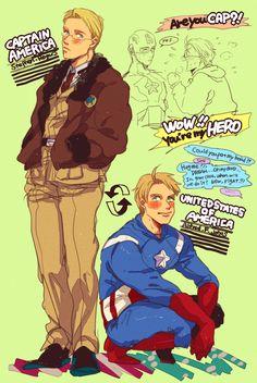 Hetalia and avengers xover