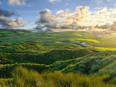 Inishowen    Photograph by Dave Johnston, Your Shot    Morning sun touches the hills and sand dunes of Inishowen, Ireland.