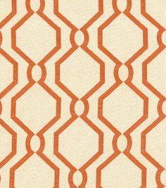 P/K Lifestyles Upholstery Fabric-Laneway/Persimmon