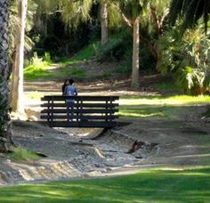 #Presidio Park near Old Town is full of hidden surprises.  Stroll through this gorgeous park to discover all the little hidden alcoves.  It's my favorite park for a #romantic #picnic.