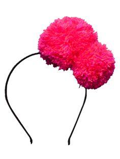 Pom Pom Headband by Nellystella at Gilt