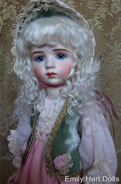 A. Marque Rare French Antique reproduction by emilyhartdolls