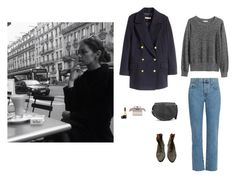 """""""Amélie 💋"""" by yanghaizi ❤ liked on Polyvore featuring H&M, Current/Elliott, Isabel Marant, MANGO, Chloé and Chanel"""