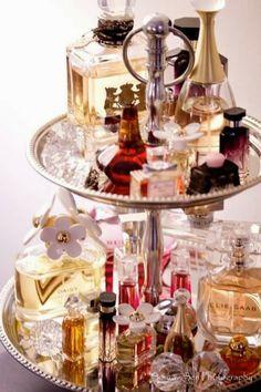 perfume display